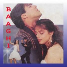 Chandni Raat Hai Tu Mere Saath Hai - Baaghi - A Rebel For Love - Abhijeet, Kavita Krishnamurty - 1990